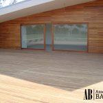 Aplicação de tacos de madeira decorativa - Assoalhos Bahia - Santo André/SP