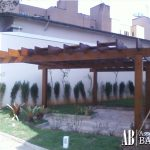 Madeira para jardins - Assoalhos Bahia - Santo André/SP