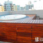 Assoalho para piscina - Assoalhos Bahia - Santo André/SP
